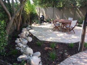 Village Gardens | Landscaping Cape Town | garden with table 1