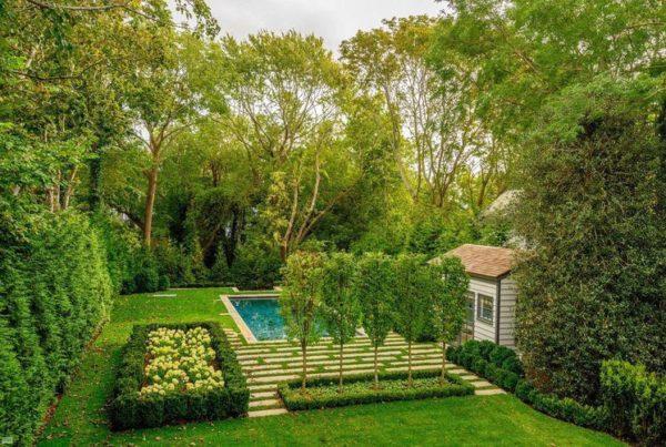 Planned garden