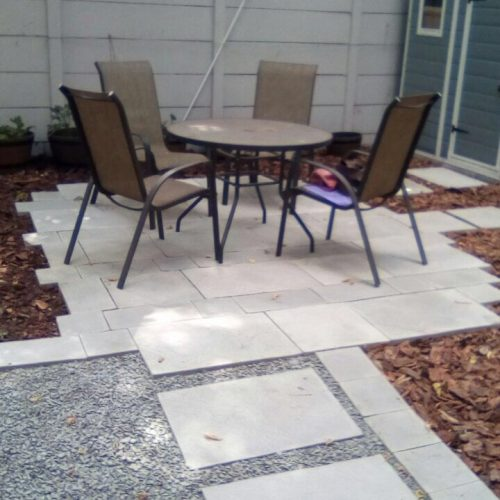 Village Gardens   Landscaping Cape Town   work done hardscaping