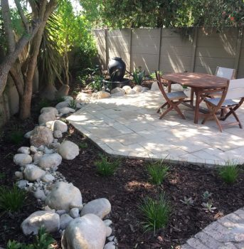 Village Gardens | Landscaping Cape Town | garden with table